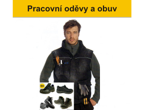 [PRACOVNÍ ODĚVY A OBUV]